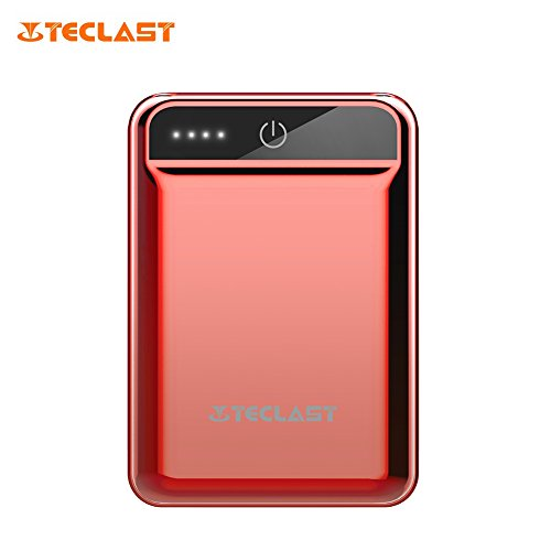 Teclast 10000mAH Mini Power Bank Dual USB 2.1A Output Compact External Battery Portable Charger Universal for Android iPhone iPad Tablets