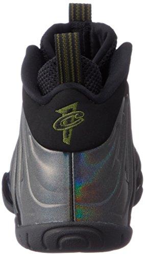 Nike Little Posite One (GS) 644791-301 Legion Green/Black Kids Shoes (6Y) by Nike (Image #2)