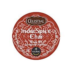 Celestial Seasonings(R) Original India Spice Chai Tea K-Cup, 0.35 oz, Box of 24