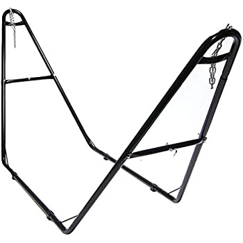 Amazon.com : OnCloud 9 FT Hammock Stand Only Heavy Duty Indoor ...