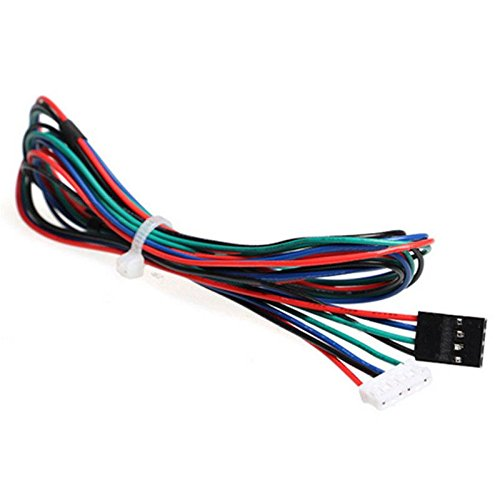 Price comparison product image SODIAL(R) Extended NEMA 17 Stepper Motor Cable 1M Long 4 6 Pin 3D Printer Dupont