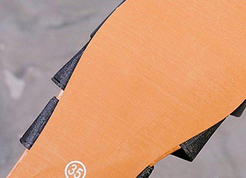 Elegante Tacco Donna Basso Sandali SmrBeauty Con Scarpe COZCqS