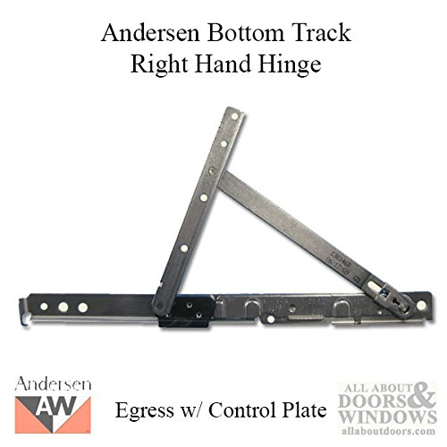 Andersen Sill Hinge RH Egress Stainless Steel Finish 1966 to Present