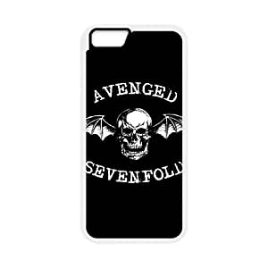 iPhone 6 4.7 Inch Cell Phone Case White Avenged Sevenfold 003 Special gift AJ886889