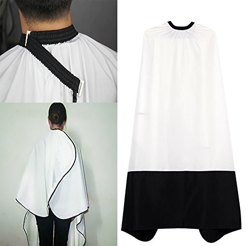 Euone  Valentine Clearance Sale , Cutting Hair Waterproof Cloth Salon Barber Gown Cape Hairdressing Hairdresser