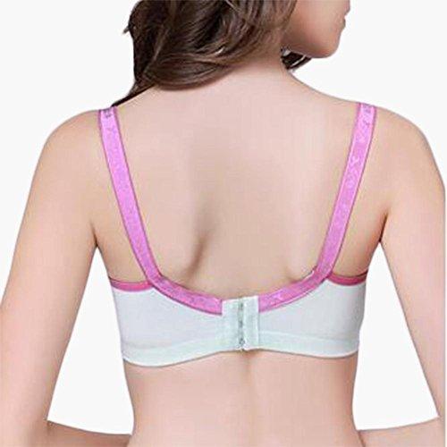 Sujetador de ropa interior mujeres embarazadas algodón no anillo de acero el conjunto para evitar la flacidez la lactancia materna sujetador ropa interior 90b
