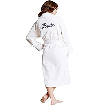 Personalized Embroidered Name Satin Robe