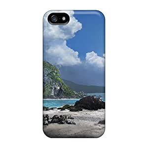 New Arrival Case Cover With Vxk4694nLdx Design For Iphone 5/5s- Incredible Tropical Cove