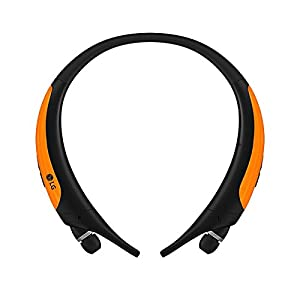 LG Electronics Tone Active Premium Wireless Stereo Headset – Retail Packaging – Orange