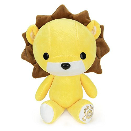 Bellzi Yellow Lion Stuffed Animal Plush Toy - Adorable Plushie Toys and Gifts! - Lioni
