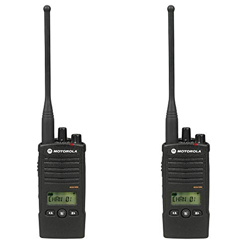 2 Pack of Motorola RDU4160d Two Way Radio Walkie Talkies