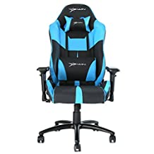 Ewin Chair Champion Series Ergonomic Office Computer Gaming Chair with Pillows- CPC (Black/Blue)