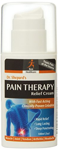 Dr. Shepard's Pain Therapy Relief Cream for Muscle, Joint, tendon, Arthritis and Headache, 3 oz. (Headache Cream compare prices)