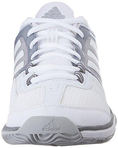 Scarpa Da Allenamento Adidas Performance Womens Barricade Club Bianco / Bianco / Grigio Chiaro