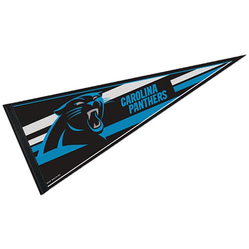 WinCraft NFL Carolina Panthers WCR53843413 Carded Classic Pennant, 12