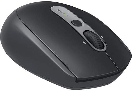 USB Wireless Receiver Bluetooth Graphite Tonal 2.4 GHz Logitech Mouse Right-Handed Optical Wireless 7 Buttons