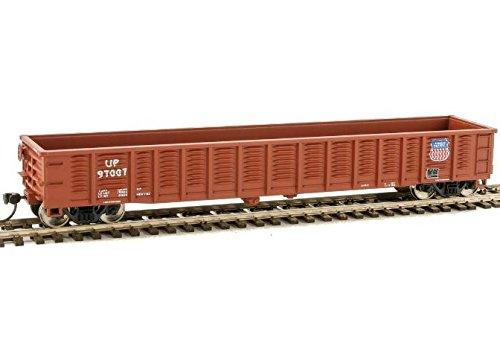 53' Corrugated-Side Gondola - Ready To Run -- Union Pacific(R) #97007 (Boxcar Red) ()