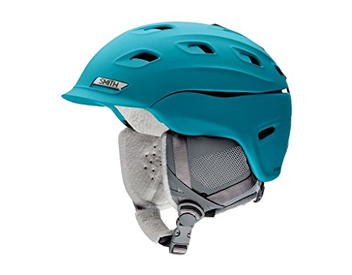 (Smith Optics Vantage Womens Ski Snowmobile Helmet - Matte Mineral/Large)