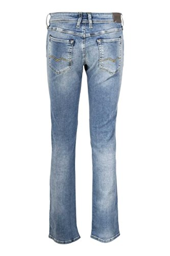 Cast Blu A Chiaro Power Gamba Diritta Denim Replay Jenn Stretch 10 Green Jeans 5 Oz ZO6gwz