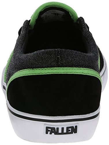Fallen Schuhe The Easy black/psych green US 9/ EU 42