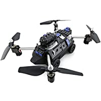 BDKJ Amphibious 2 IN 1 WIFI FPV RC Drone/Tank Air And Ground Mode Headless Mode High Lock quadcopter with 720P Camera