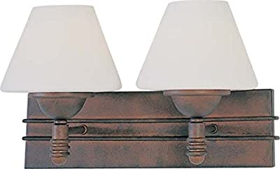 Volume Lighting V7372-31 2-Light Bathroom Vanity, Italian Dusk