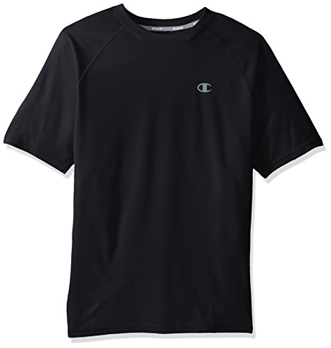 Champion Men's Double Dry Select Tee with FreshIQ, Navy, M ()
