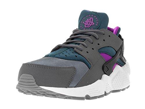 Nike Damen Wmns Air Huarache Run Turnschuhe Gris (Dark Grey / Teal)