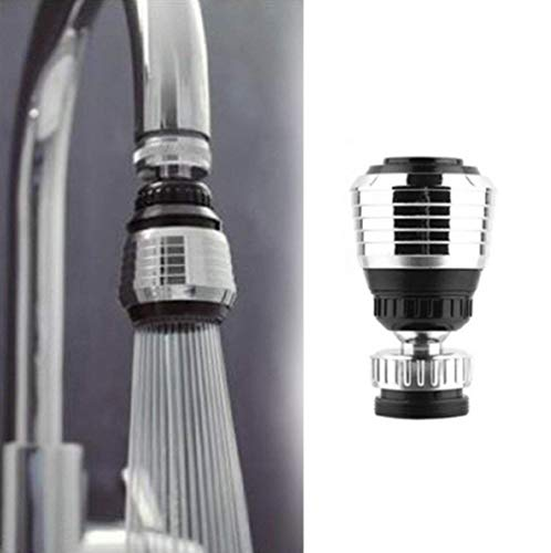 360 Degree Rotate Faucet , Deluxe Internal Thread Nozzle Filter Adapter Water Saving Bubbler Connector Swivel Tap Aerator Diffuser Kitchen Accessories#0028/4(2PCS)