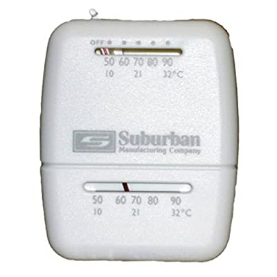 Suburban 161154 Wall Thermostat - Heat Only - White: Automotive