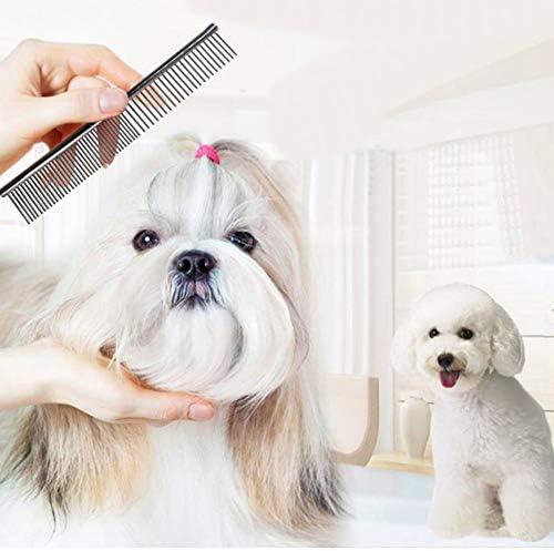 AKDSteel RVS Kam Huisdier Hond Kam voor Honden Katten Haarverwijdering Grooming Tool Nieuwe Levensstijl