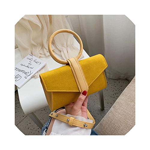 Women Suede Chest Bag Wave...