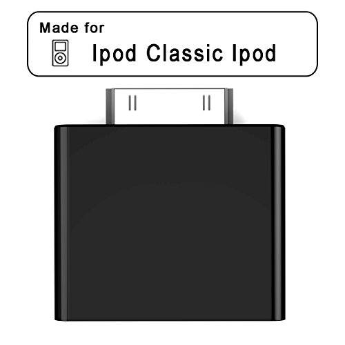 Baile 30-pin Bluetooth Transmitter IPF01 for Ipod Mini Ipod Classic Ipod (Black) Apple Ipod Video 30gb Accessory
