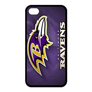 Custom Baltimore Ravens Back Cover Case for iphone 4,4S JN4S-725
