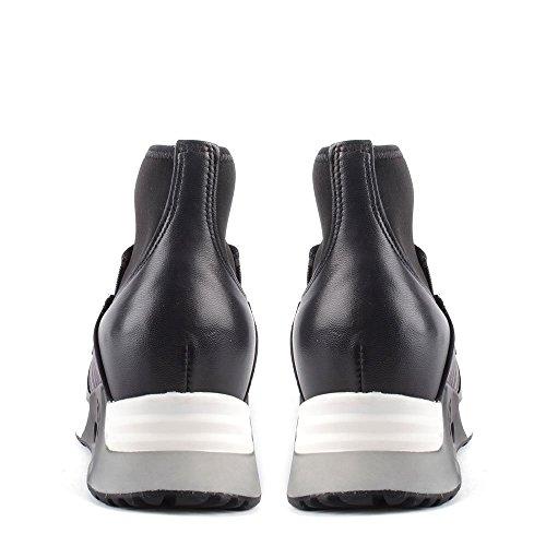 Zapatillas De Liu Mujer Ash Zapatos Bis Cuero Negro FtzwUxxB