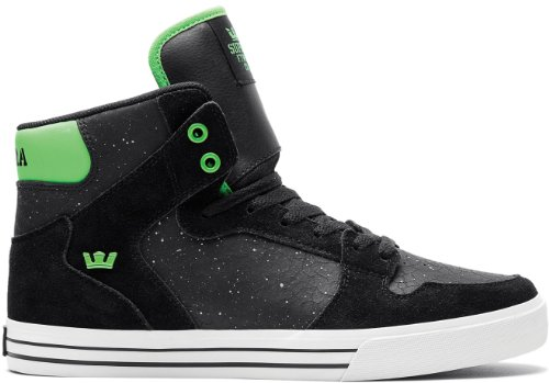 Supra VAIDER S28204 Herren Sneaker Black/Lime/White