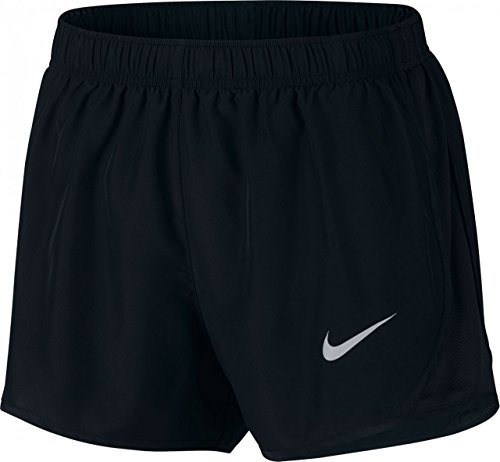 Nike Womens Tempo Running Shorts Black/Wolf Grey 831558-014 Size Medium
