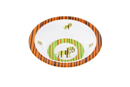 Lässig Dish Bow Melamin Schüssel aus 100% Melamin BPA-frei, Wildlife Tiger