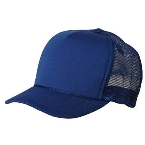 Summer Foam Mesh Trucker Cap - Royal (Foam Mesh Hats)