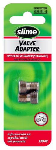 Slime 23042 Presta to Schrader Valve Adapter