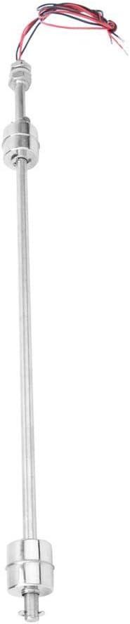 Floating Body 300mm Junluck Interruptor de l/íquido de Acero Inoxidable 304 Sensor de Nivel de l/íquido de Alta sensibilidad Flotador 300-500 mm con Dos