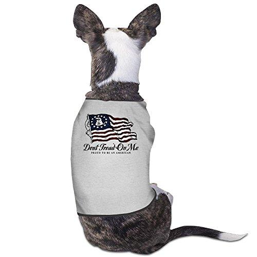 Oklahoma Dog Pet Football Jersey (Theming Don't Tread On Me Proud American Dog Vest)