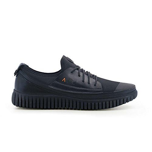 ACBC Scarpa Sneakers K2 Suola e Scarpa Nera con Zip