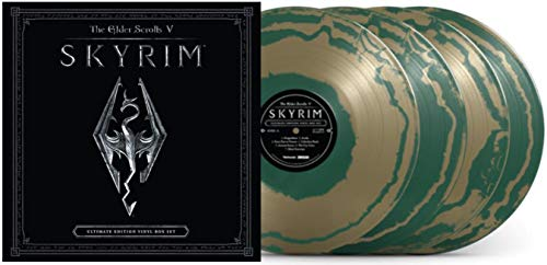 The Elder Scrolls V: Skyrim (Ultimate Edition Emerald Circlet Green 4XLP Vinyl Box Set #/500)