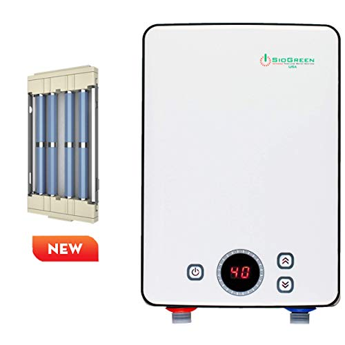 Sio Green IR30 v2 POU Infrared Electric Tankless Water Heater - None Corrosion Elements - Extends The Life of Tankless Water Heaters 120v / 8A - 30A/3.4kW - For Hand Wash and Sink Only