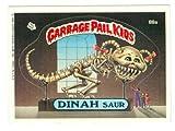 Garbage Pail Kids sticker trading card 1986 Topps #88a Dinah Saur