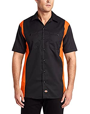 Men's Short-Sleeve Work Shirt