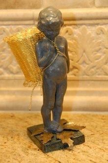 - Thrift Emporium Cherub Angel Vintage Petite Choses U.S.A. Cast Figurine Lead ?