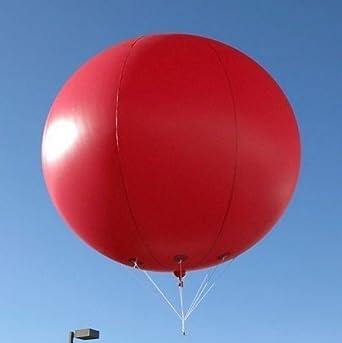 Globo gigante inflable de 9,8 pies con logo de fiesta: Amazon.es ...