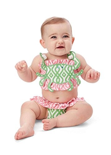 Mud Pie Baby Crab Bikini (4T)